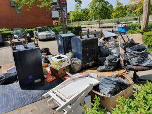 vuilnis buiten ondergrondse kliko's